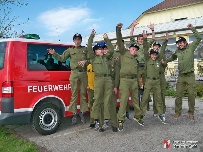 Wissenstest Feuerwehrjugend 2014