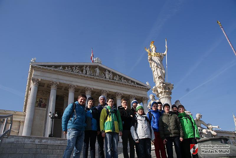 Jugendausflug nach Wien