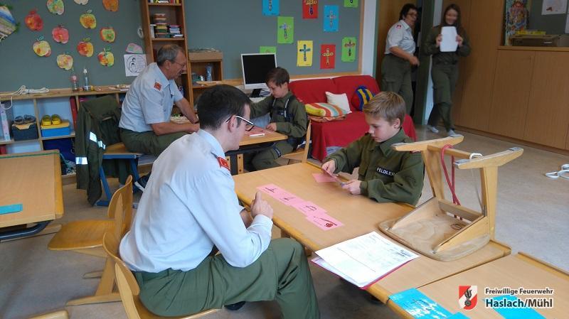 Jugendwissenstest und Erprobungen