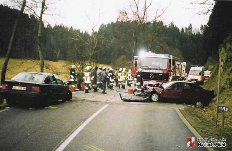 Vehrkehrsunfall Bahnstraße