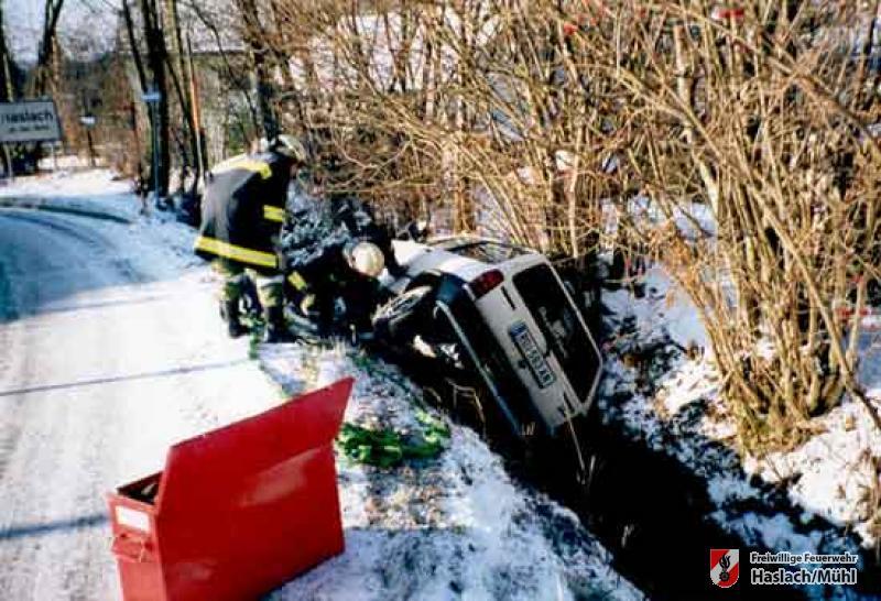 Verkehrsunfall Richtung Hörleinsödt
