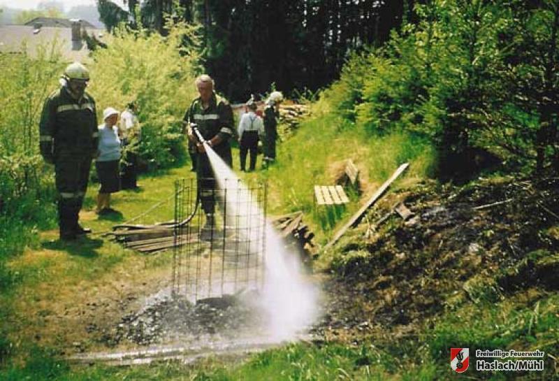 Waldbrand Grubberg
