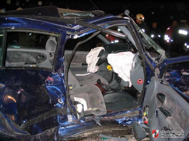 Verkehrsunfall auf der B 38 mit tödlichem Ende