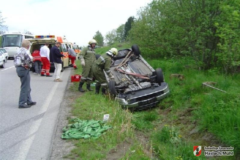 Unfall Umfahrung Haslach