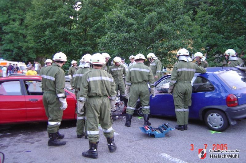 Verkehrsunfall B38 – Große Mühl-Brücke