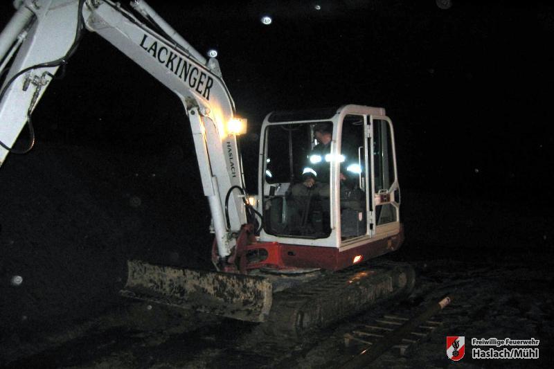 Kellerüberschwemmung in Jaukenberg