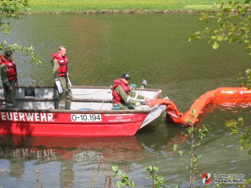 Ölübung mit der Feuerwehr Rohrbach & Neuhaus – Untermühl