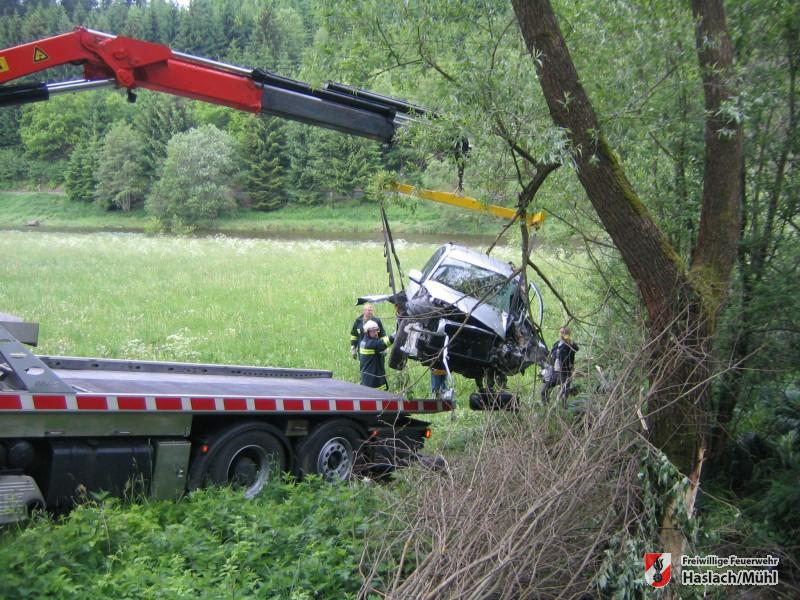 Fahrzeugbergung Güterweg Teufelmühle