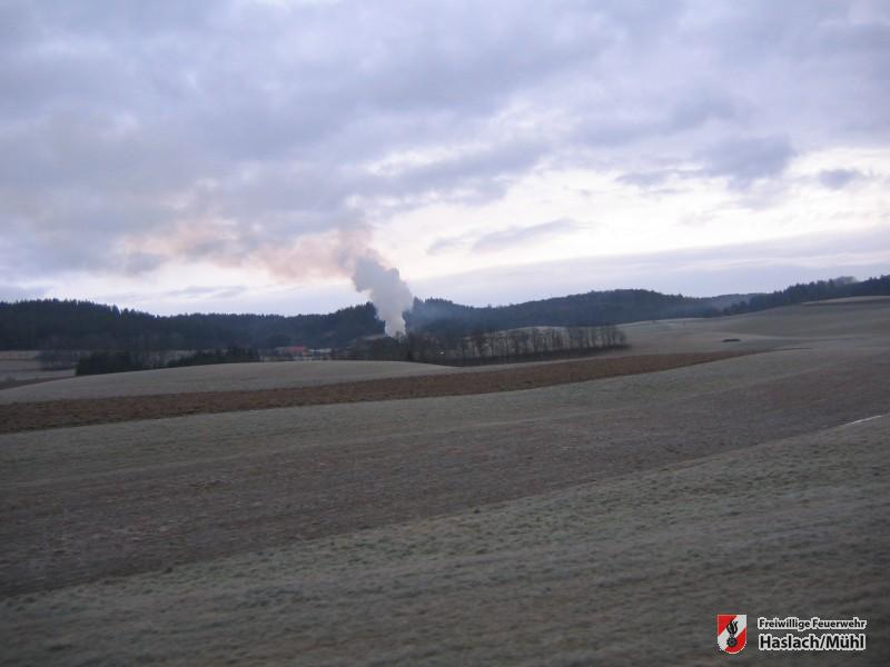 Brand in Helfenberg – Alarmstufe II