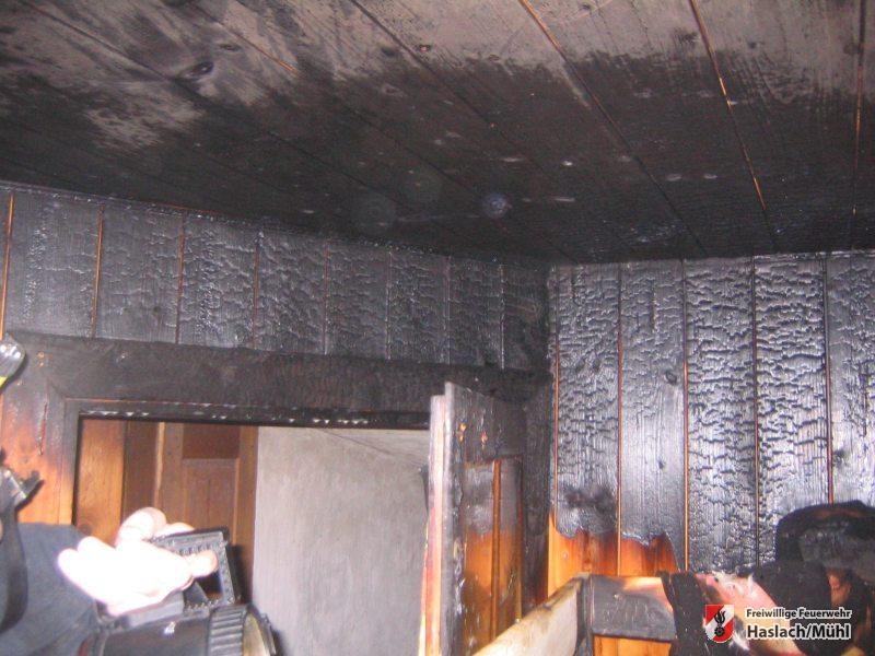 Wohnhausbrand in Haslach – Stelzen