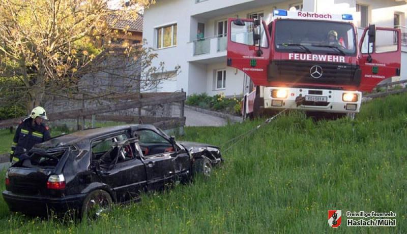 Verkehrsunfall B38