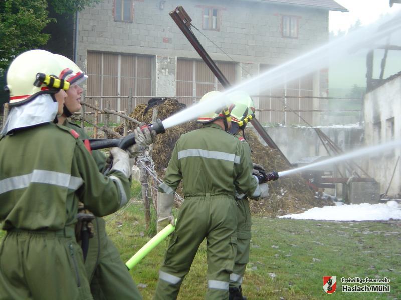 Bauernhausbrand in Afiesl – Alarmstufe III