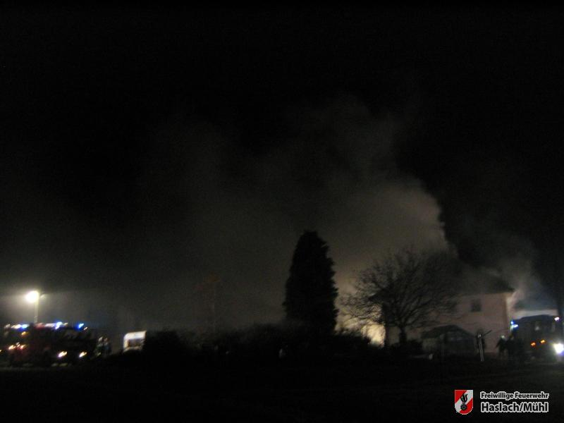 Wohnhausbrand in St. Peter
