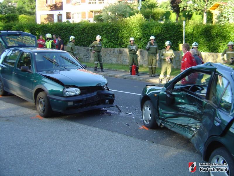 Verkehrsunfall Lichtenau