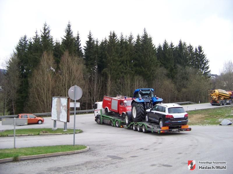 TLF-Trupp außer Dienst