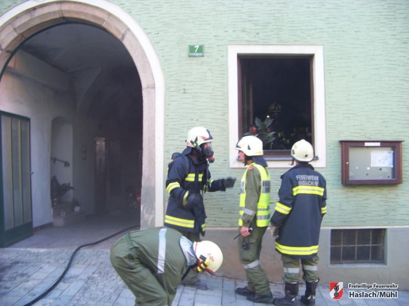 Zimmerbrand nach Fettüberhitzung