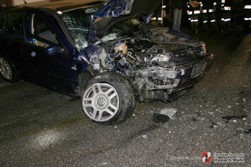 Verkehrsunfall in Damreith & Fahrzeugbergung