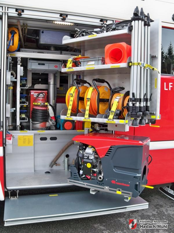 Neues LFB-A2 in Empfang genommen