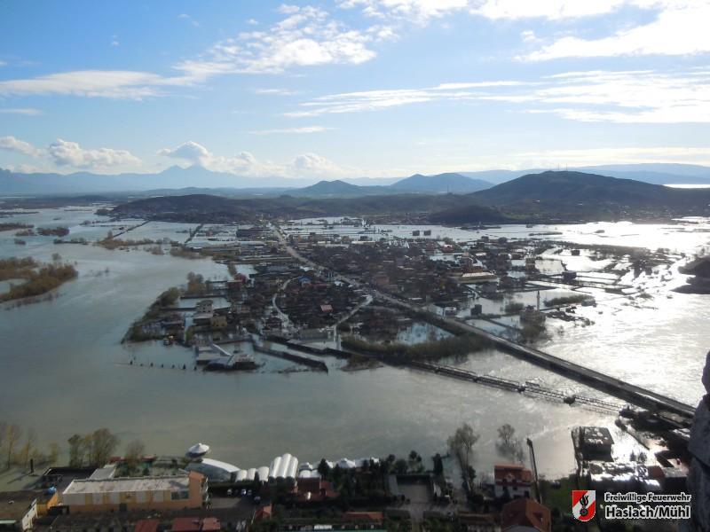 Katastrophenhilfe für Albanien