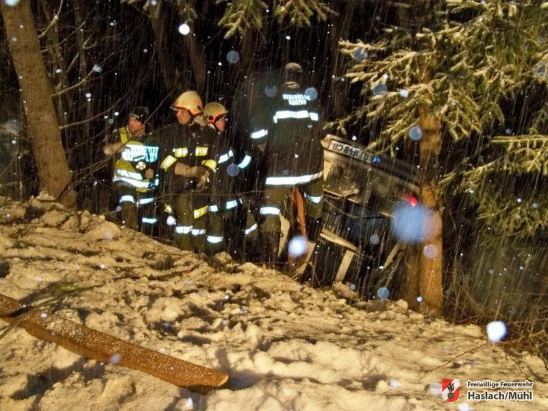 Verkehrsunfall zwischen Kasten und Neudorf