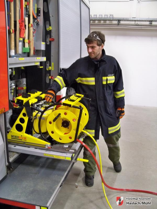 neues hydr. Rettungsgerät angekauft