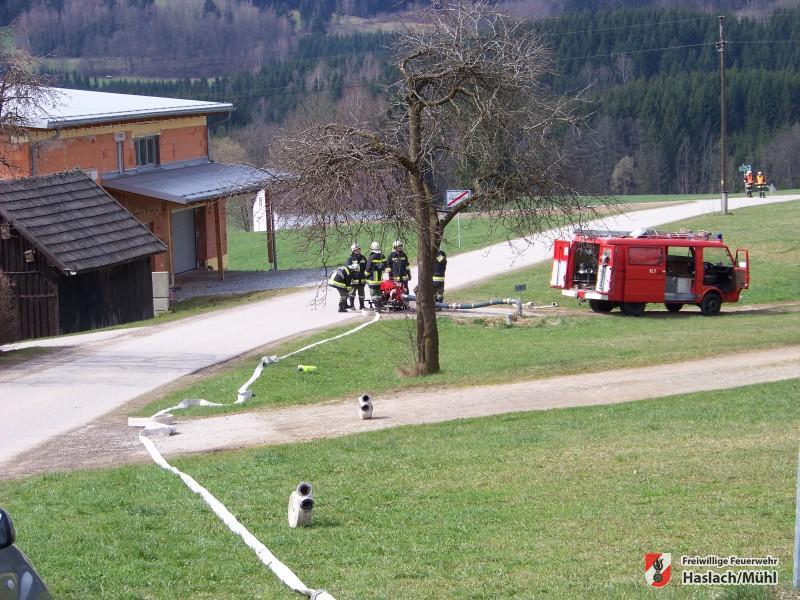 Kellerbrand in Damreith