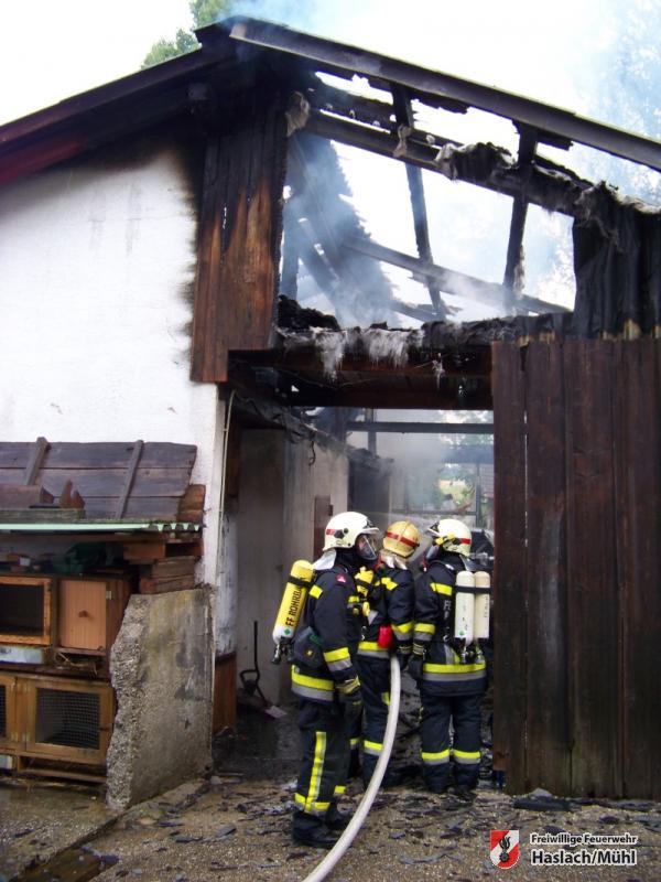 Brand in Fürling – Gemeinde Berg
