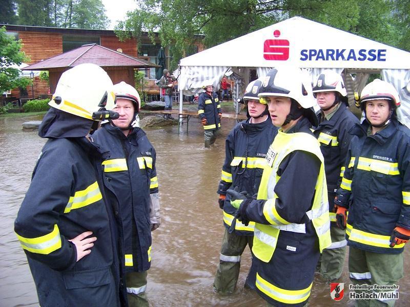 Einsätze aufgrund der starken Regenfälle