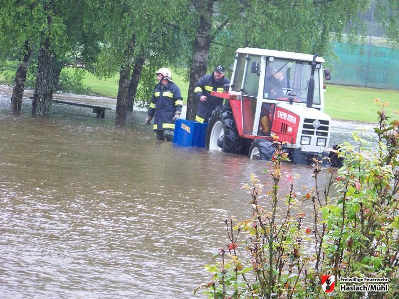 Hochwasser in Haslach – Detailbericht