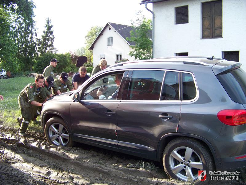 Katastropheneinsatz in Goldwörth