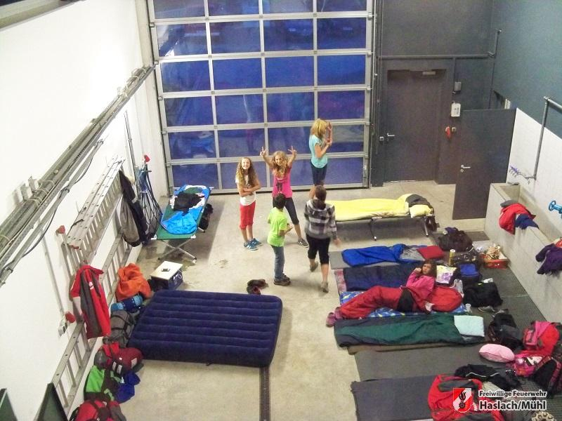 Feuerwehrübergreifendes Jugendlager