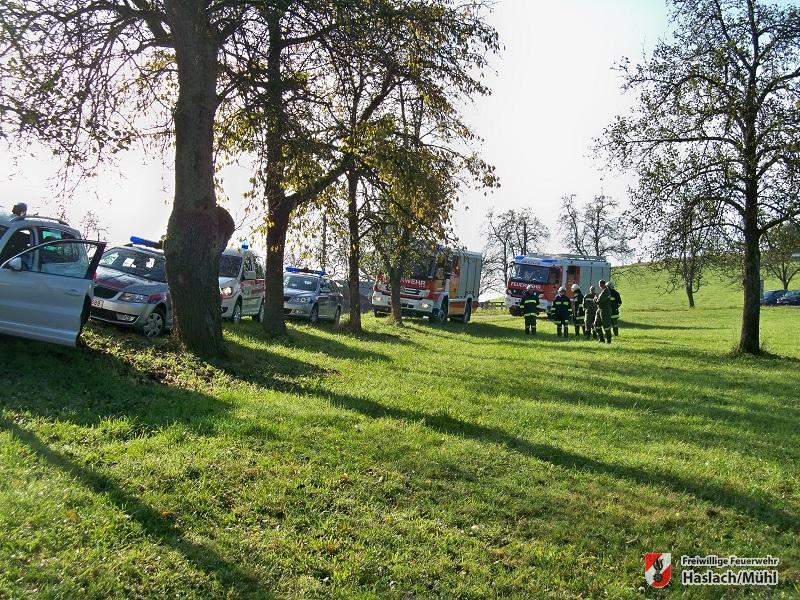 Verkehrsunfall in Rohrbach