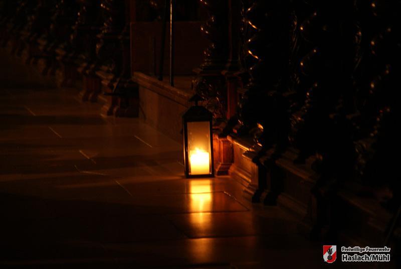 Friedenslichtübergabe in St. Florian