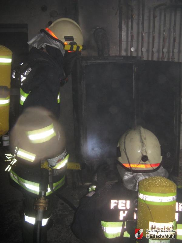 Brand eines Selchofen in St. Stefan
