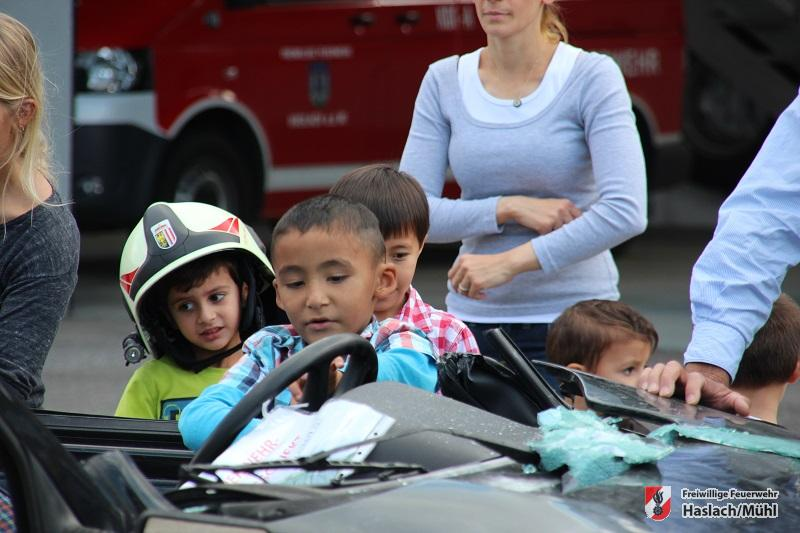 Familientag bei der Feuerwehr