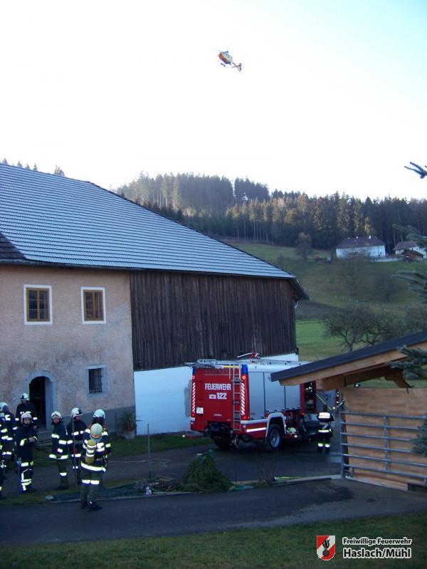 Brandeinsatz in Kasten