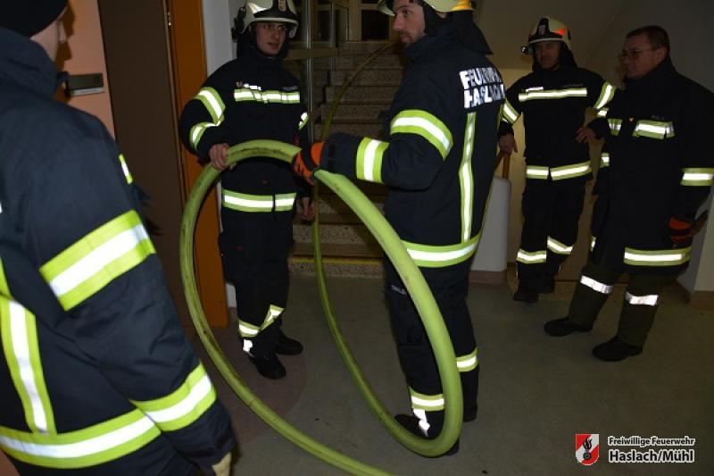 Gruppenübungen Brand