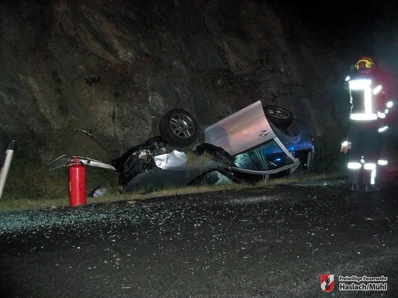 Verkehrsunfall Nößlbach