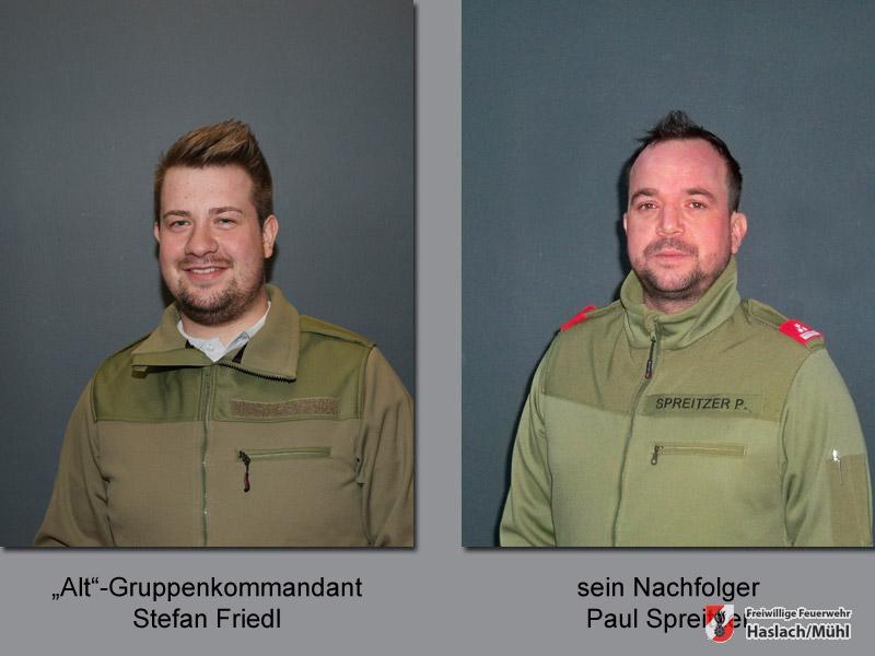 Legionär als neuer Gruppenkommandant