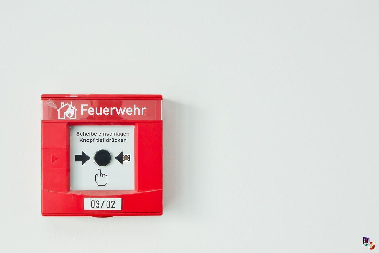 Brandalarm durch Brandmeldeanlage
