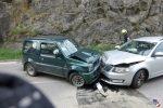 Verkehrsunfall an der Haslacher Ortsausfahrt