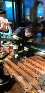 beherzter Nachbar verhindert Wohnhausbrand