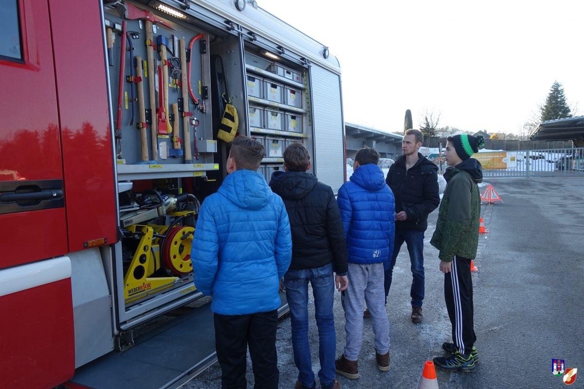 Jugendübung: Verkehrsunfall Ablauf
