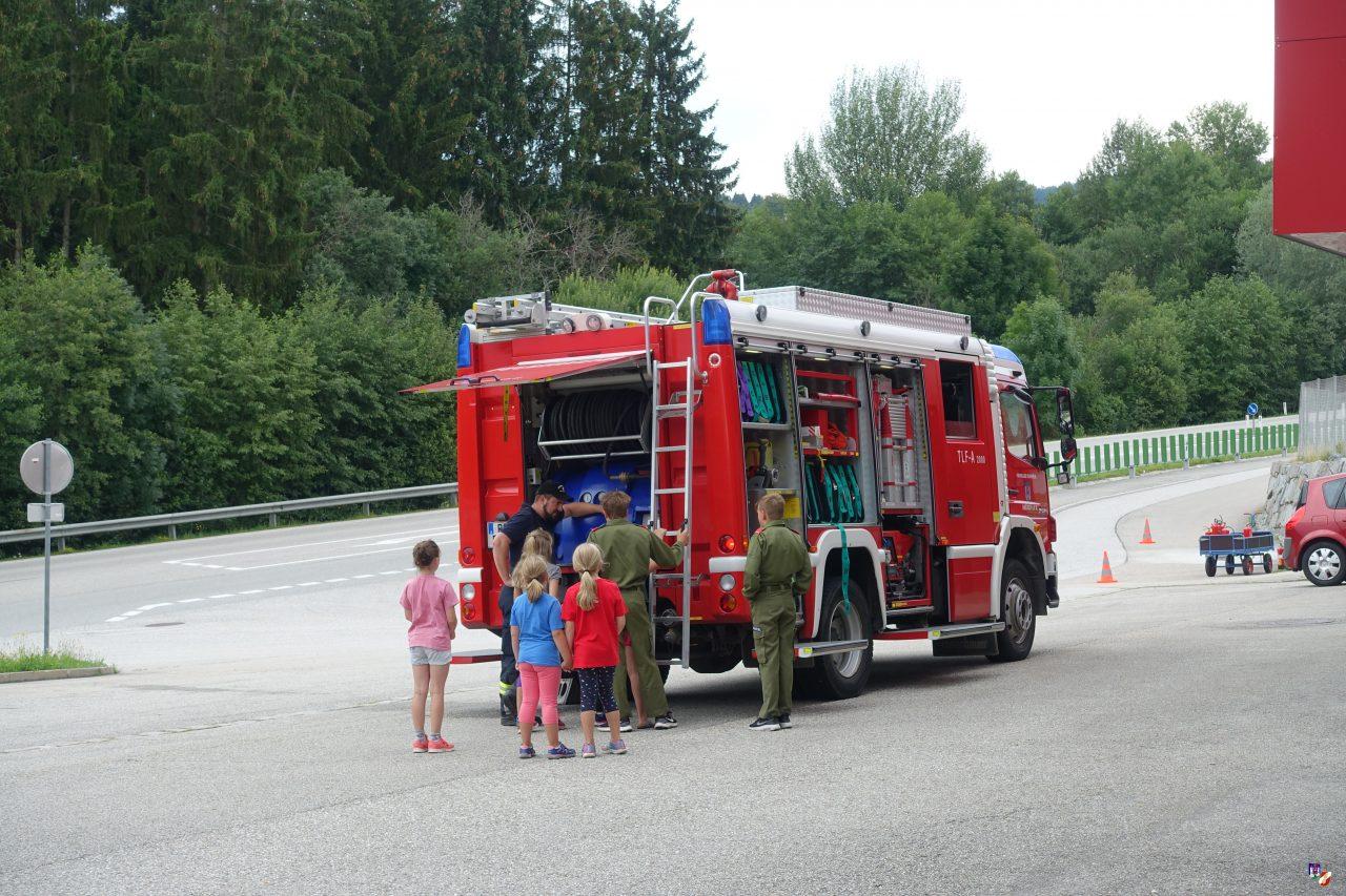 Ferienspiel bei der Feuerwehr