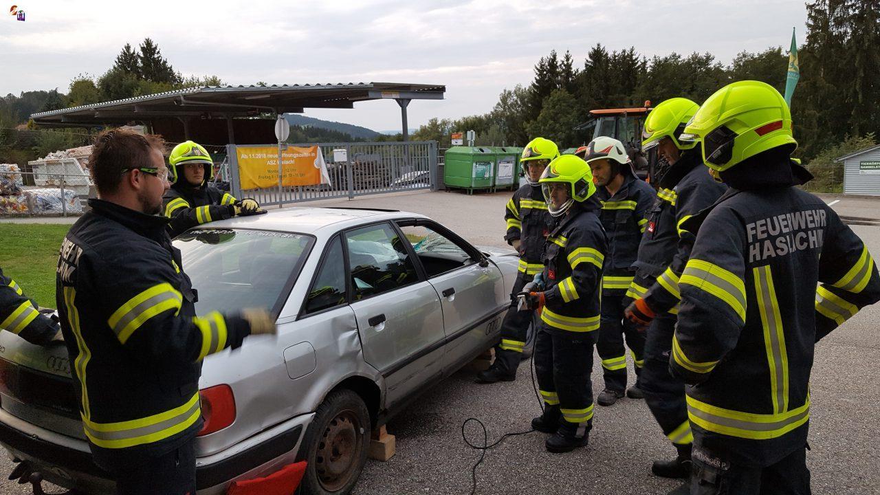 Monatsübung Verkehrsunfall