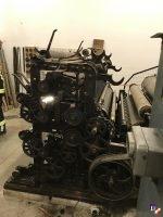 Personenrettung aus Textilmaschine