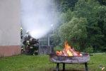 Gruppenübung Brand – Erstangriff