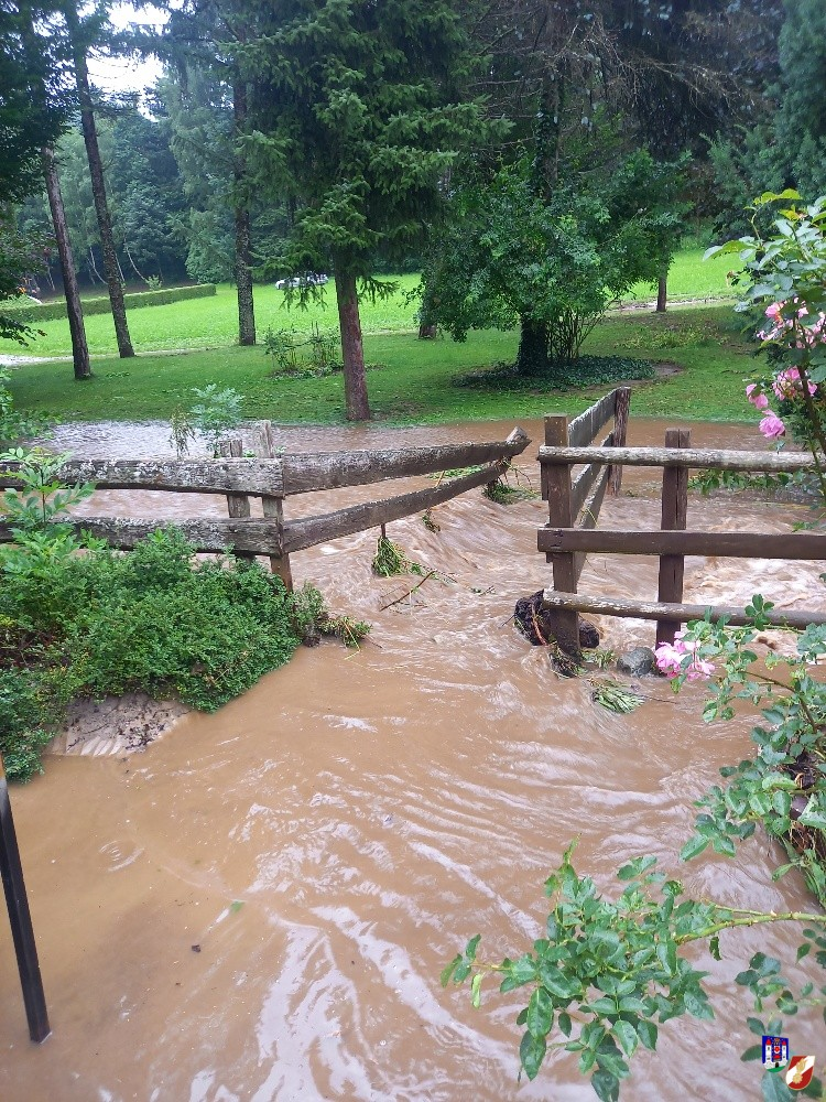 """Überflutung """"Dollhäublmühle"""""""