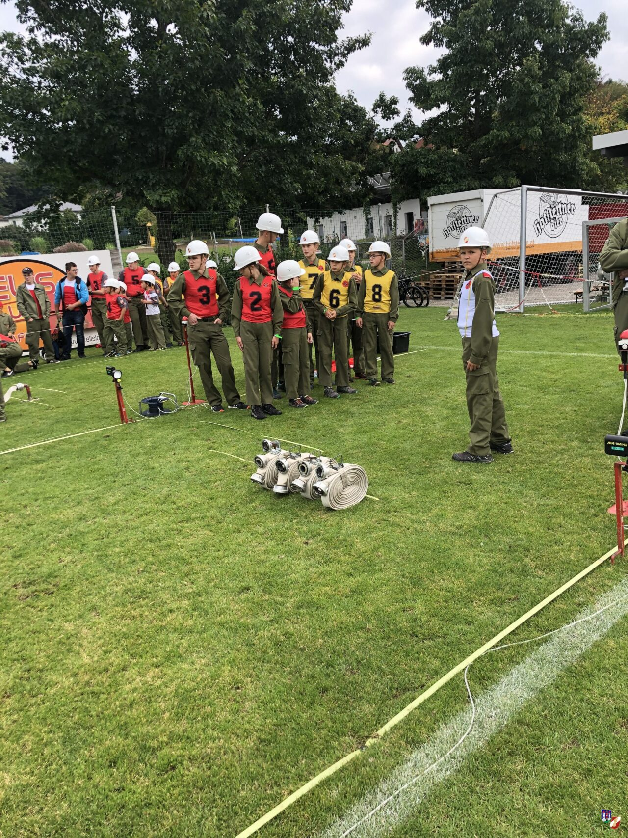 Trainingsbewerb in St.Martin